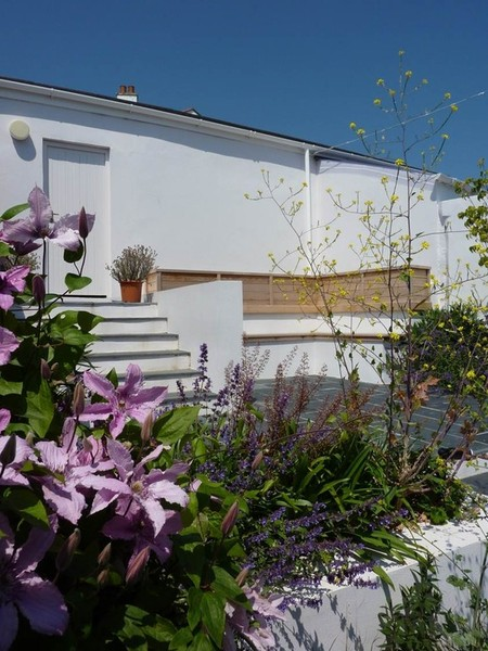 Private garden Falmouth - Richard Sneesby Landscape Architects ...